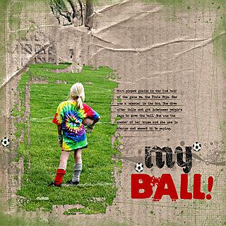 My ball copy