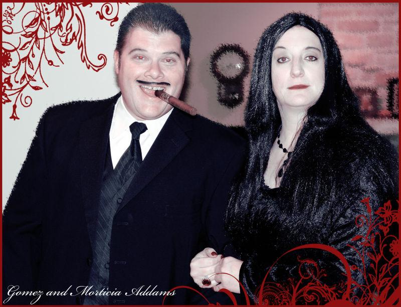 Morticia and gomez copy