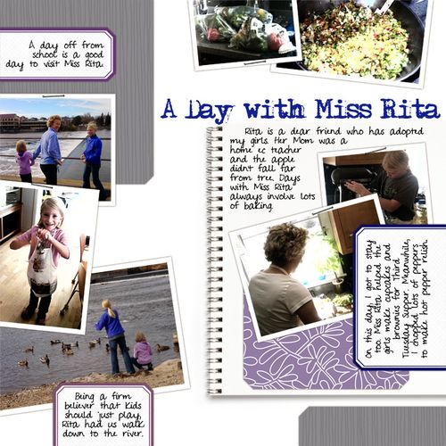 A day with miss rita
