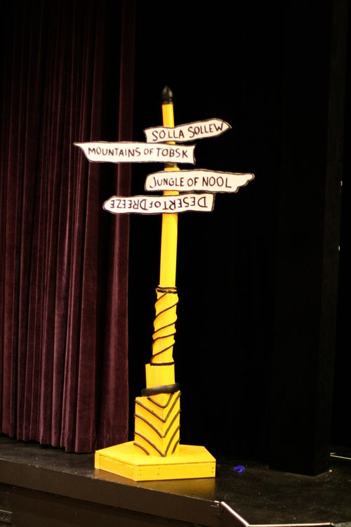 Seussical sign