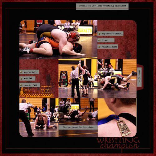 Wrestling sectionals